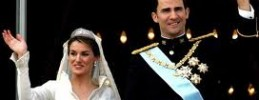 Bodas Reales- Felipe y Letizia el día de su boda