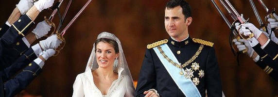 Bodas Reales- Los príncipes a la salida de la iglesia