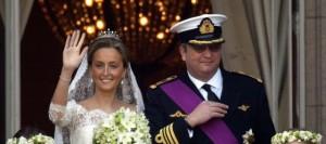 Bodas Reales.Laurent de Bélgica y Claire