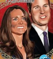 Bodas Reales- Guillermo y Kate en comic