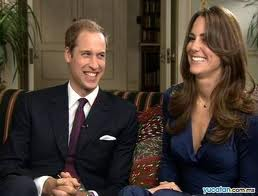 Bodas Reales-Guillermo y Kate sonrientes
