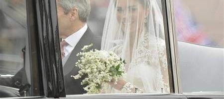 Bodas Reales- Kate Middleton llegando a la Abadía de Westminster