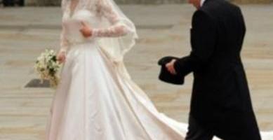 Bodas Reales- Kate del brazo de su padre