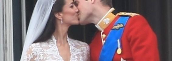 Boda Real - El primer beso como marido y mujer