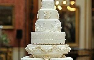Bodas Reales - El Pastel de Kate Middleton y el príncipe William tiene 8 pisos