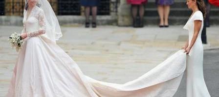 Bodas Reales - Cinco horas para crear reproducción del vestido de Kate en boda real
