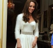 Bodas Reales - Fiesta privada de la Boda Real: El segundo vestido de novia de Kate Middleton