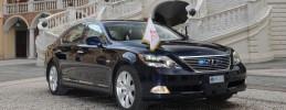 Bodas Reales - El Príncipe Alberto de Mónaco usará un Lexus híbrido para su boda