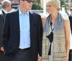 Bodas Reales - Para disipar los rumores, Alberto y Charlene se muestran juntos