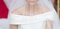 Bodas Reales - Un deslumbrante vestido de Armani